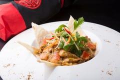 鸡咖喱印地安人 图库摄影