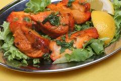 鸡咖喱印地安人tikka 免版税库存图片