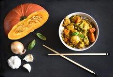 鸡咖喱我们的泰国食物 免版税图库摄影