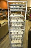 鸡小圆面包 库存照片