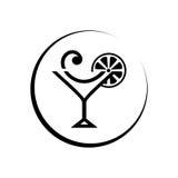 鸡尾酒俱乐部 皇族释放例证