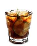 鸡尾酒古巴libre 库存图片
