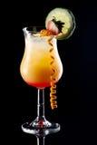 鸡尾酒多数普遍的系列日出龙舌兰酒 免版税库存图片