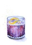 鸡尾酒杯3 免版税图库摄影