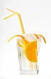 鸡尾酒柠檬 免版税图库摄影
