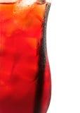 鸡尾酒汇集-杏子致冷机 库存照片