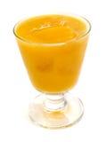 鸡尾酒汇集-桃子和橙色圆滑的人 库存图片