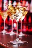 鸡尾酒汇集-马蒂尼鸡尾酒 库存图片