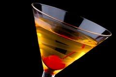 鸡尾酒法国马蒂尼鸡尾酒多数普遍的系列 库存照片