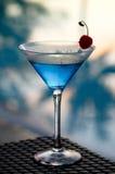 鸡尾酒热带的马蒂尼鸡尾酒 免版税库存照片