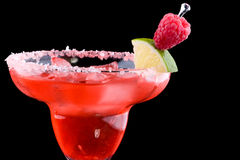 鸡尾酒玛格丽塔酒多数普遍的莓seri 免版税库存照片