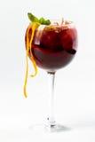 鸡尾酒用桔子 免版税图库摄影