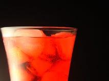 鸡尾酒红色 免版税库存图片