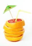 鸡尾酒葡萄柚 免版税库存照片