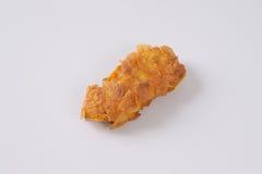 鸡油煎了肉 免版税库存图片