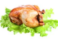 鸡油煎了 图库摄影
