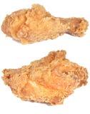 鸡油煎了 免版税库存图片
