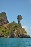 鸡海岛 免版税图库摄影