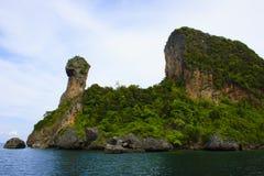 鸡海岛 免版税库存图片