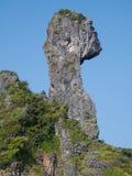 鸡海岛krabi泰国 免版税库存图片