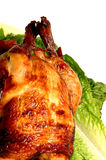 鸡烘烤 库存图片