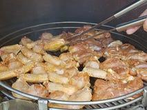 鸡烤肉 免版税库存照片