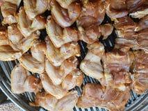 鸡烤肉 免版税图库摄影