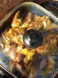 鸡烤肉 图库摄影