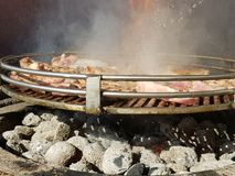 鸡烤肉 库存图片