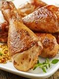 鸡烤行程 免版税图库摄影