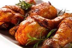 鸡烤行程 免版税库存图片