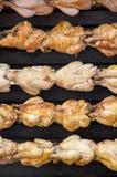 鸡烤 免版税库存照片