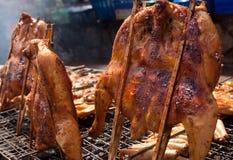 鸡烧烤 免版税库存照片