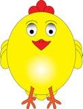 鸡甜点 免版税库存图片