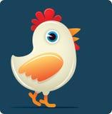 鸡白色 免版税库存图片
