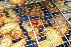 从鸡的烤肉's肉 图库摄影