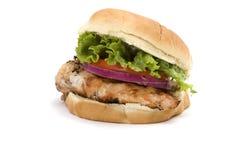 鸡肉三明治 图库摄影