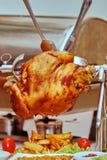 鸡蔬菜 免版税图库摄影