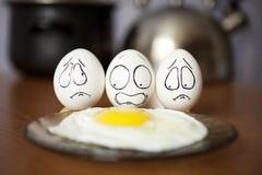 鸡蛋。 免版税库存照片