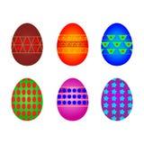 鸡蛋六 免版税库存照片