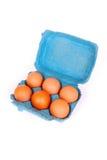 鸡蛋包装六 免版税库存图片