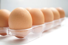 鸡蛋和食物 免版税库存图片
