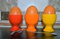 鸡蛋早餐 库存照片