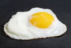 鸡蛋油煎了sunnyside  库存图片