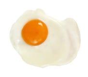 鸡蛋油煎的路径 库存图片