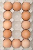 鸡蛋第零 免版税库存图片