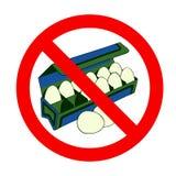 鸡蛋释放符号 免版税库存图片