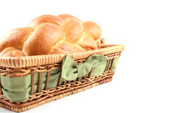 鸡蛋面包 免版税库存图片