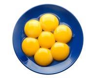 鸡蛋黄 图库摄影