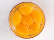 鸡蛋 查出 食物 空白 原始 六 免版税图库摄影
